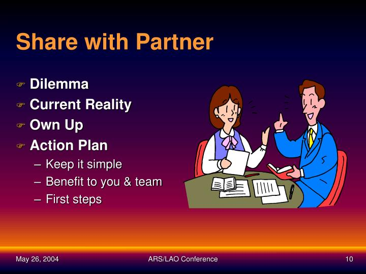 Share with Partner
