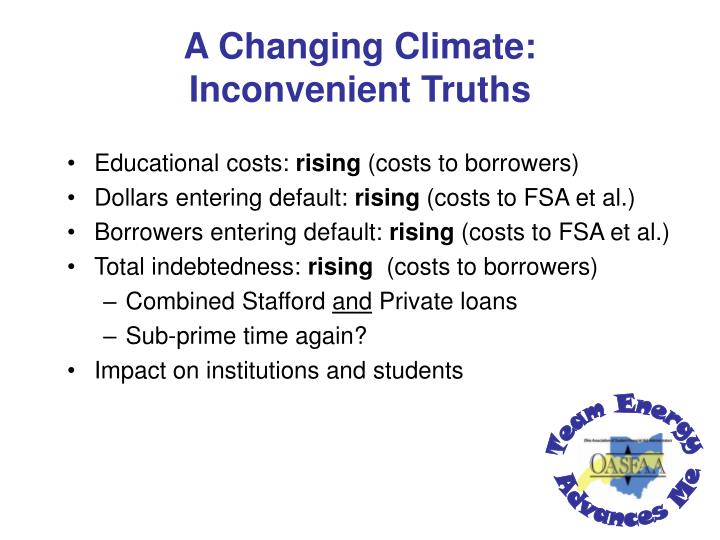 A Changing Climate: