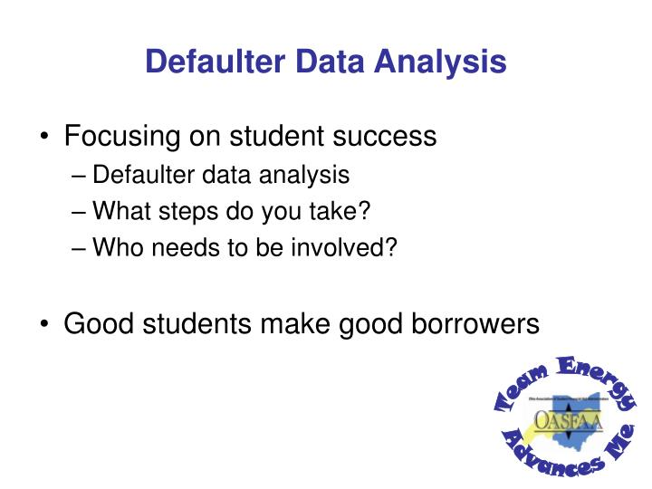 Defaulter Data Analysis