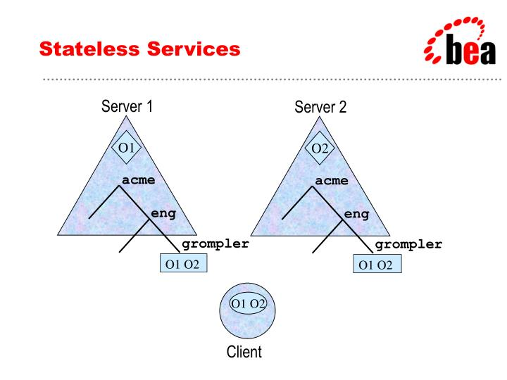Stateless Services