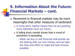 9 information about the future financial markets cont2