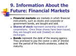 9 information about the future financial markets