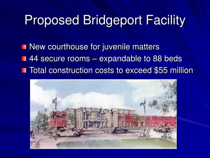 Proposed Bridgeport Facility