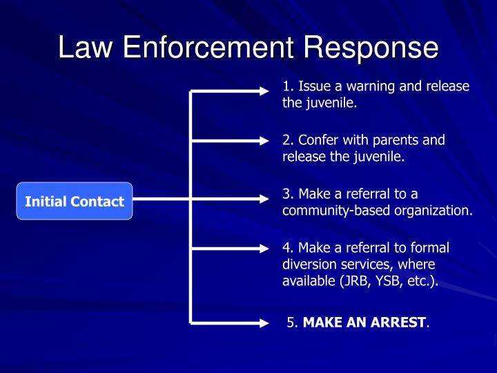 Law Enforcement Response
