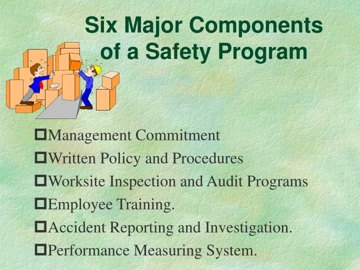 Six Major Components of a Safety Program
