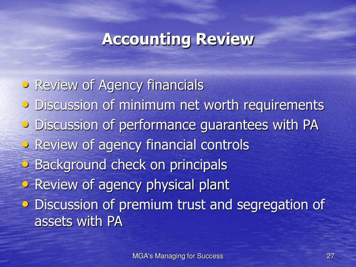 Accounting Review