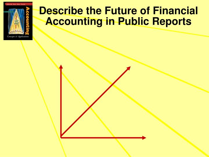 Describe the Future of Financial Accounting in Public Reports