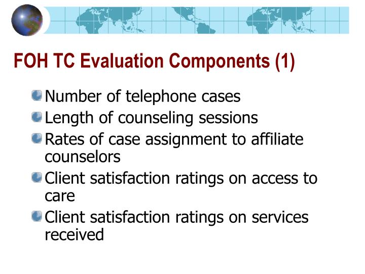 FOH TC Evaluation Components (1)
