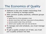 the economics of quality