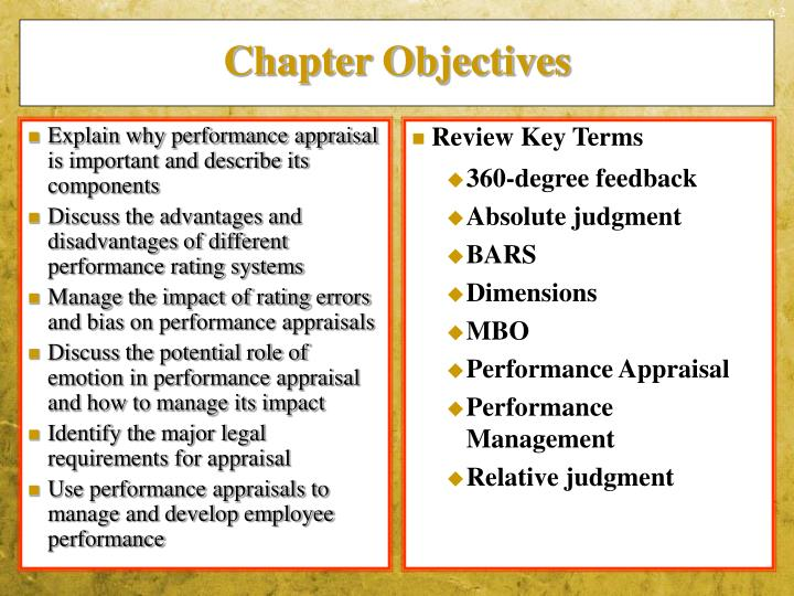 Explain why performance appraisal is important and describe its components
