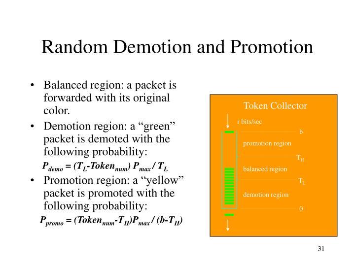 Random Demotion and Promotion