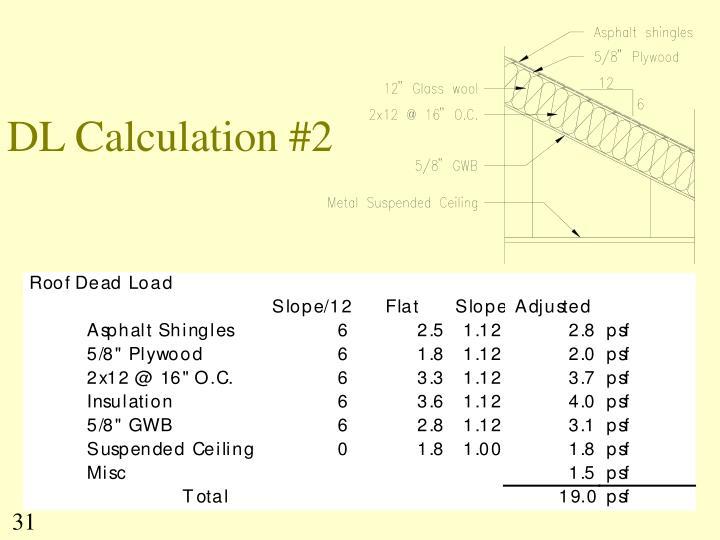 DL Calculation #2