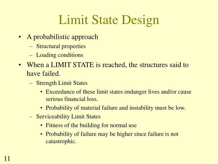 Limit State Design