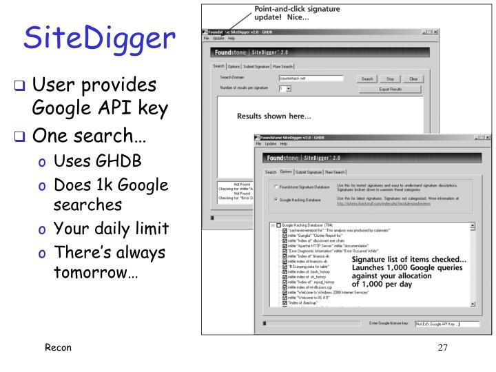 SiteDigger