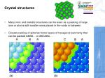crystal structures1