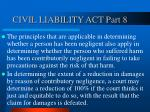 civil liability act part 8