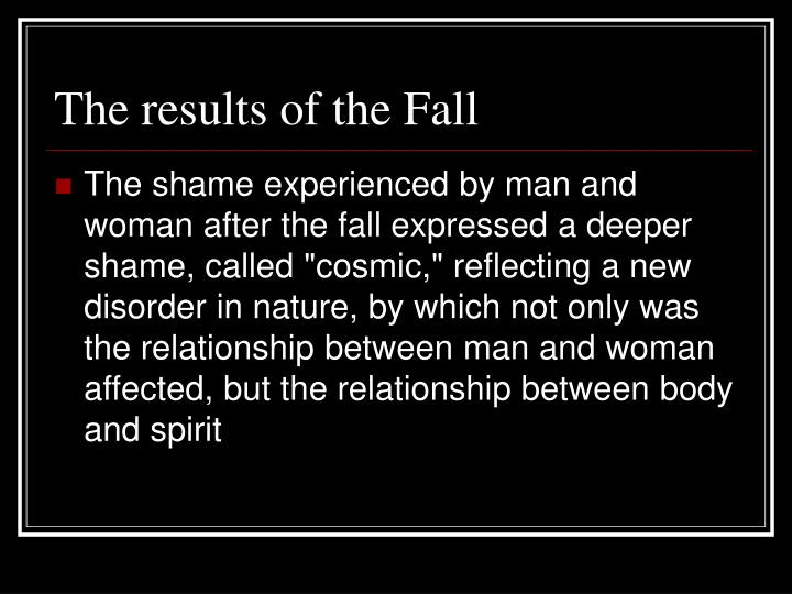 The results of the Fall