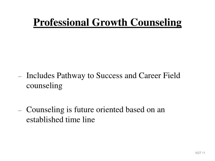 Includes Pathway to Success and Career Field counseling