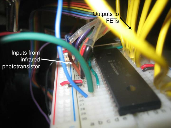 Outputs to FETs