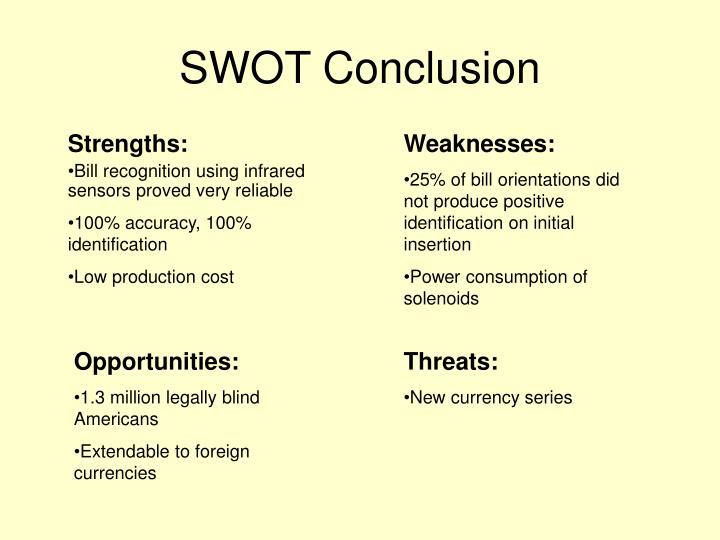 SWOT Conclusion