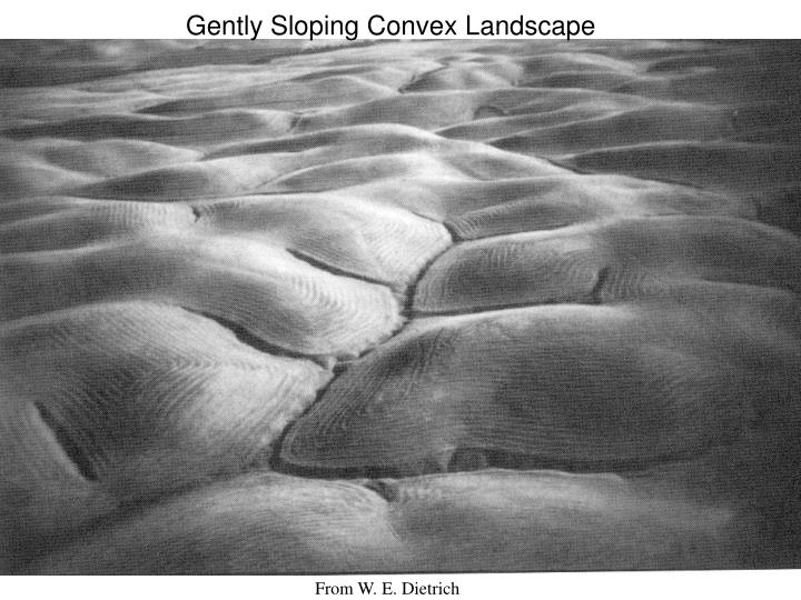 Gently Sloping Convex Landscape