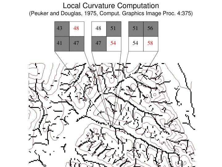Local Curvature Computation