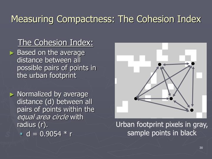 The Cohesion Index: