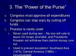 3 the power of the purse