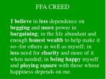 ffa creed3