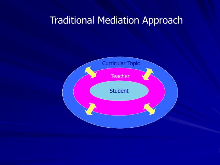 Traditional Mediation Approach