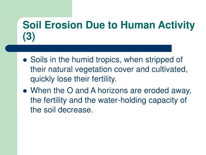 Soil Erosion Due to Human Activity (3)