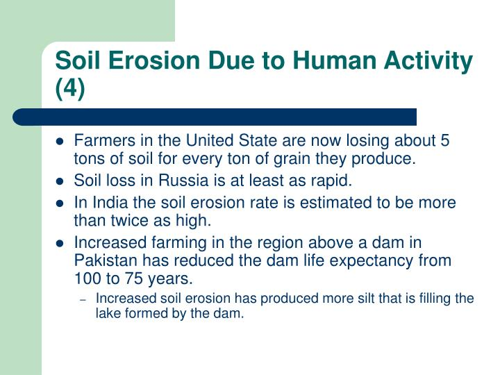 Soil Erosion Due to Human Activity (4)