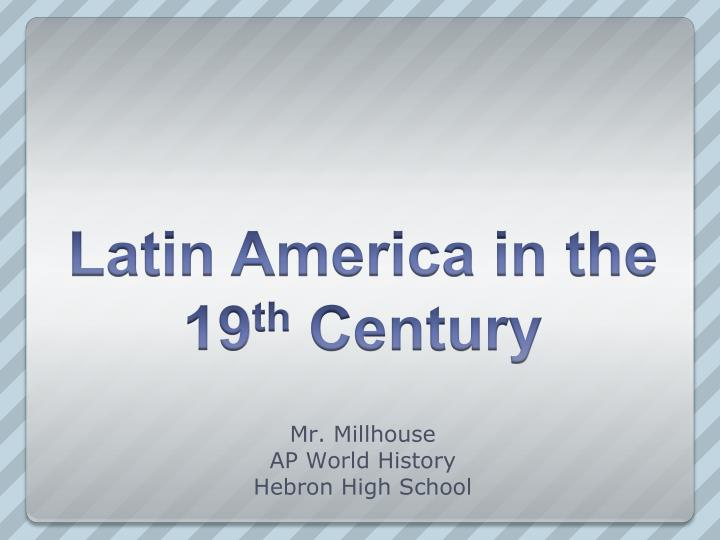 Mr millhouse ap world history hebron high school