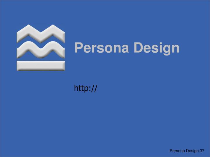 Persona Design
