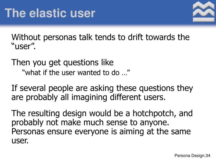 The elastic user
