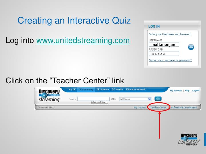 Creating an Interactive Quiz