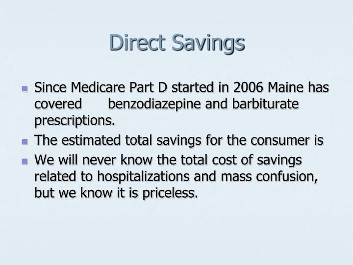 Direct Savings