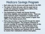 medicare savings program1