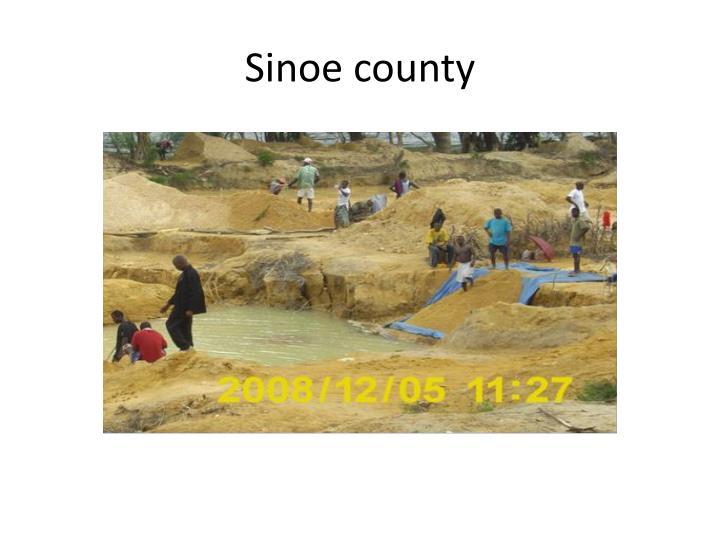 Sinoe county
