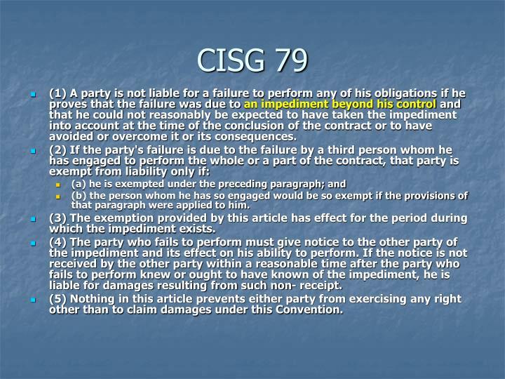 CISG 79