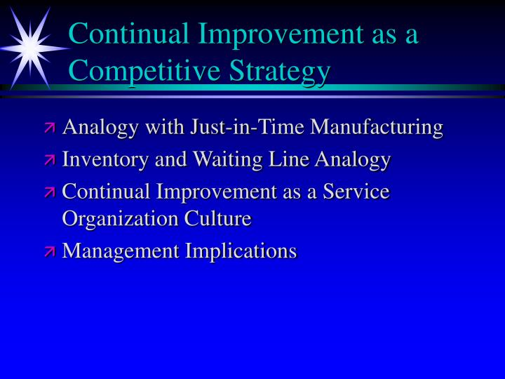 "quality productivity and competitive Currently the linkage between quality, productivity, and competitive position is stated as an hypothesis, ""improving quality leads to increased productivity which in turn results in a more robust competitive position"" this hypothesis has garnered many adherents and has a body of qualitative ."