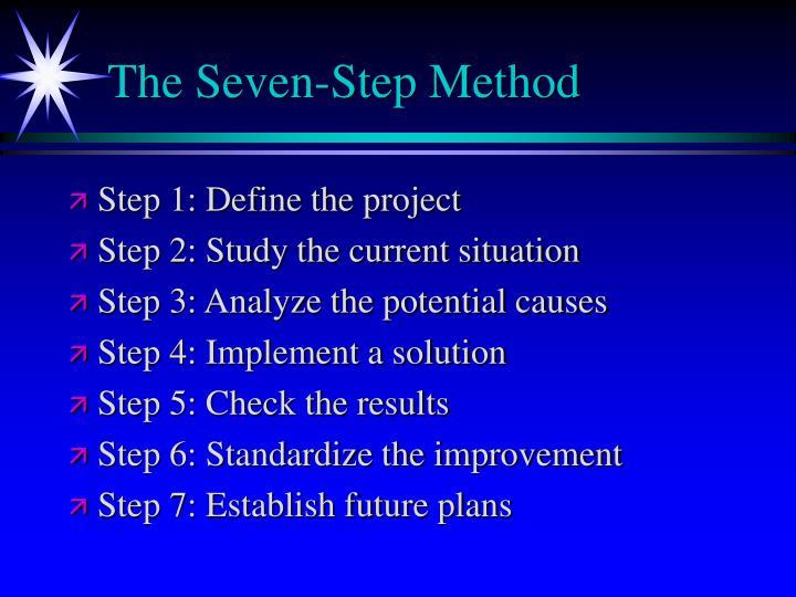 The Seven-Step Method