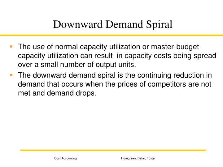 Downward Demand Spiral