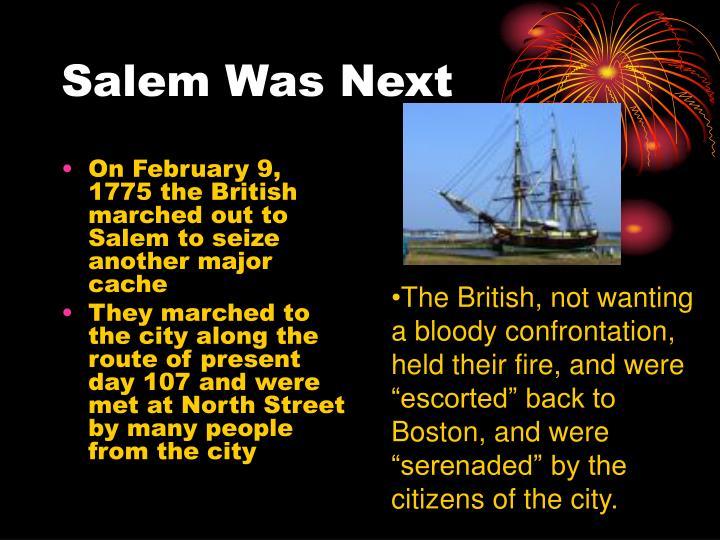 Salem Was Next