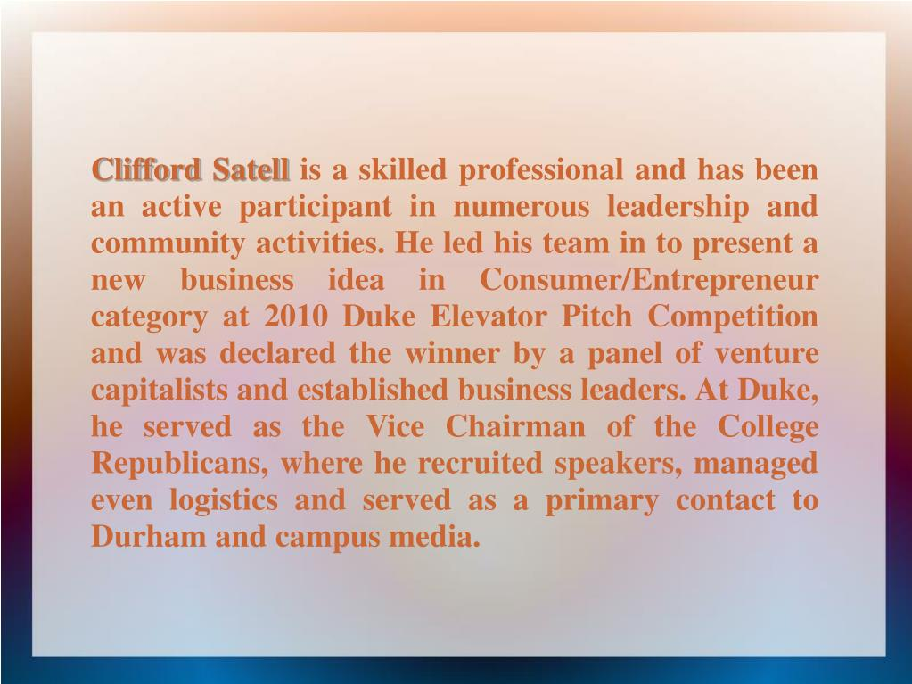 Clifford Satell