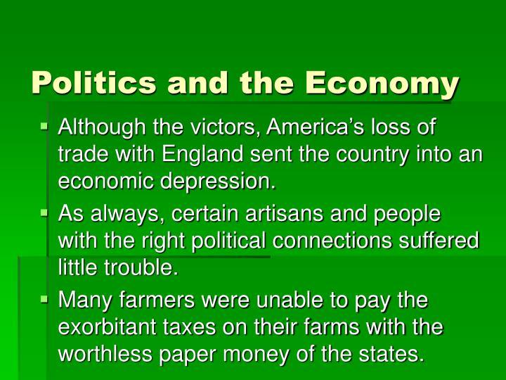 Politics and the Economy