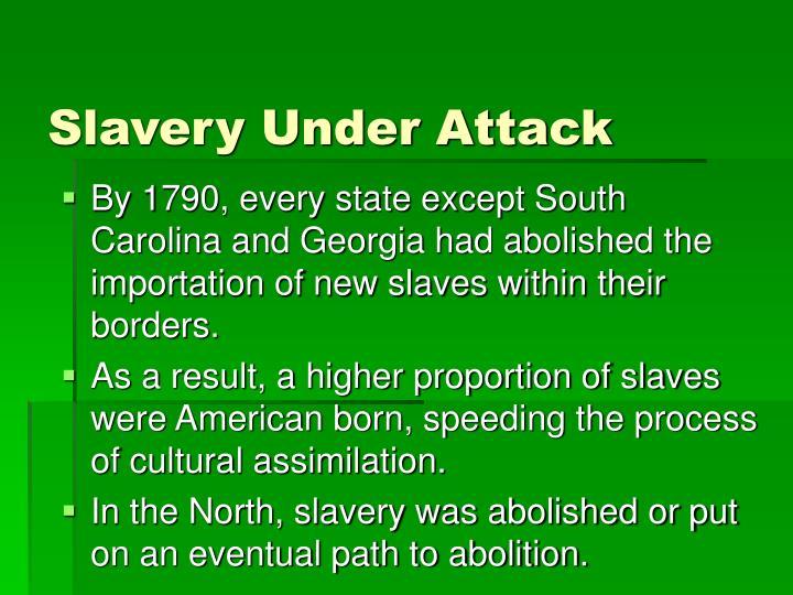 Slavery Under Attack