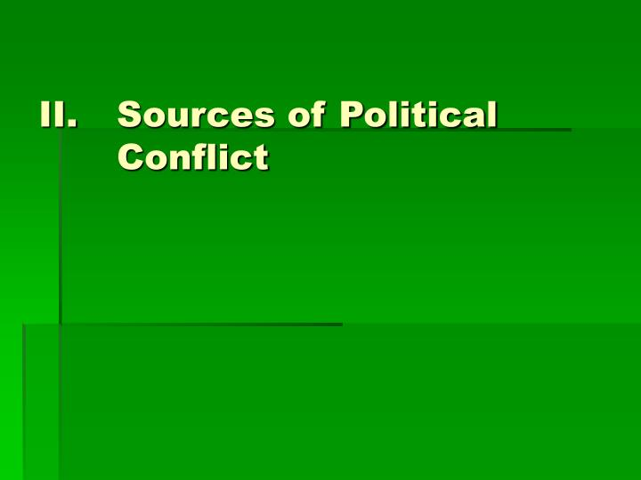 Sources of Political