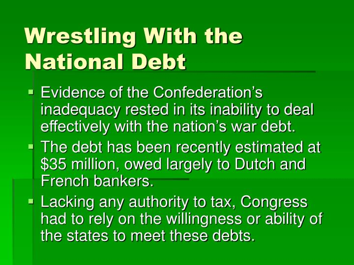 Wrestling With the National Debt