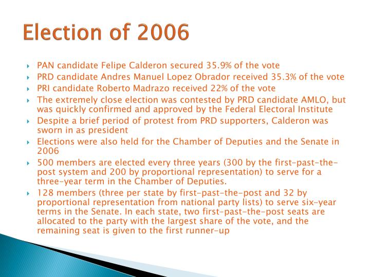 Election of 2006